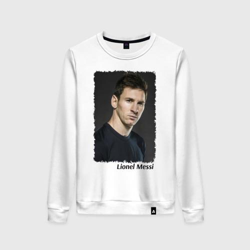 Женский свитшот хлопок Lionel Messi