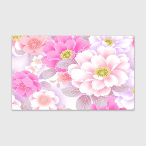 Бумага для упаковки 3D Цветы