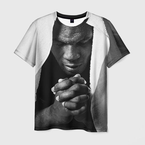 Мужская футболка 3D Майк Тайсон