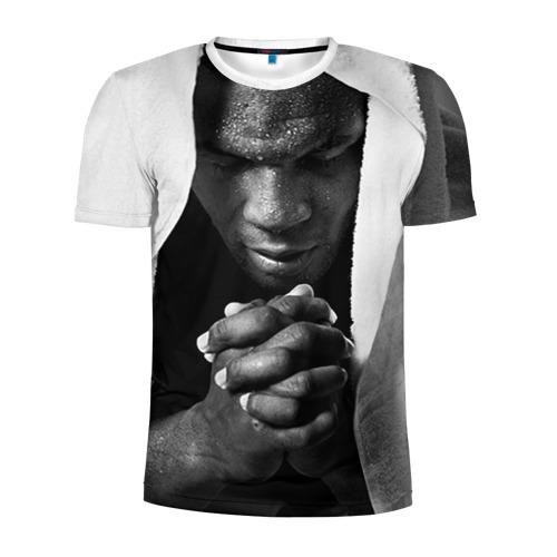 Мужская футболка 3D спортивная Майк Тайсон