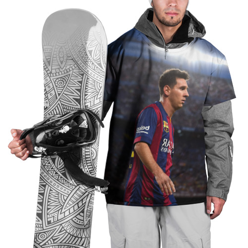 Накидка на куртку 3D Messi