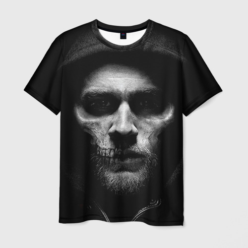 Мужская футболка 3D Sons Of Anarchy