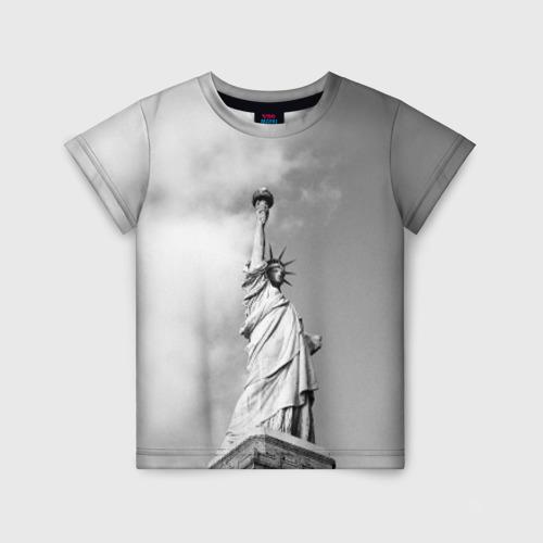 Детская футболка 3D Статуя Свободы