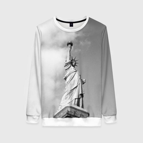 Женский свитшот 3D Статуя Свободы