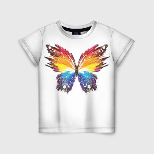 Детская футболка 3D Butterfly