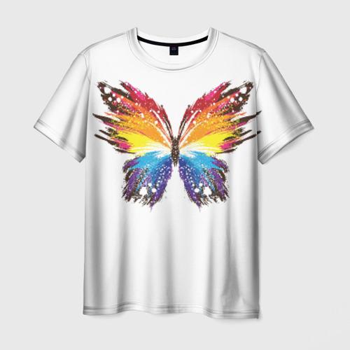 Мужская футболка 3D Butterfly