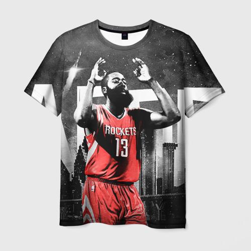 Мужская футболка 3D Баскетболист NBA