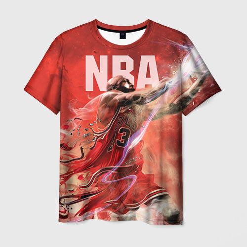 Мужская футболка 3D Спорт NBA
