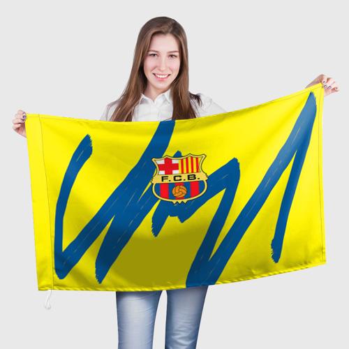 Флаг 3D Барселона