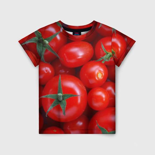 Детская футболка 3D Томатная