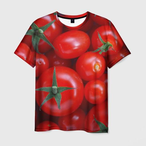 Мужская футболка 3D Томатная