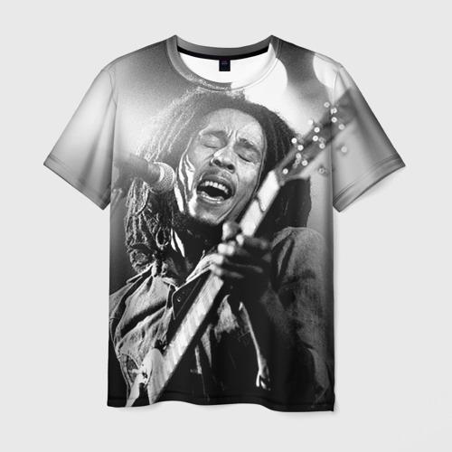 Мужская футболка 3D Боб Марли 2