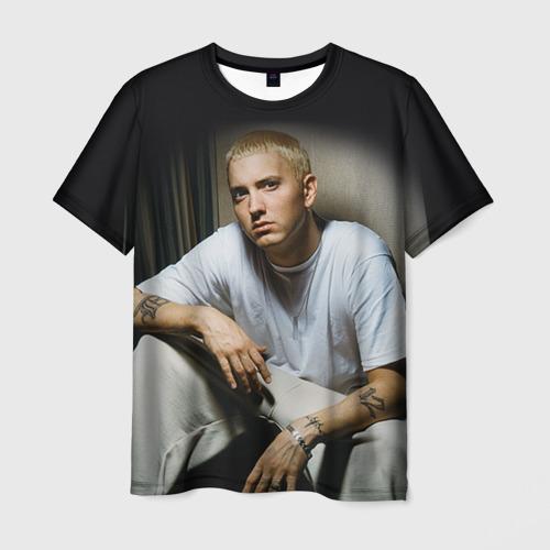 Мужская футболка 3D Эминем 1