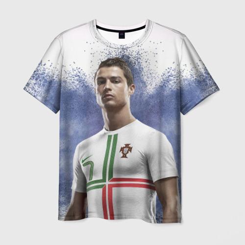 Мужская футболка 3D Криштиану Роналду