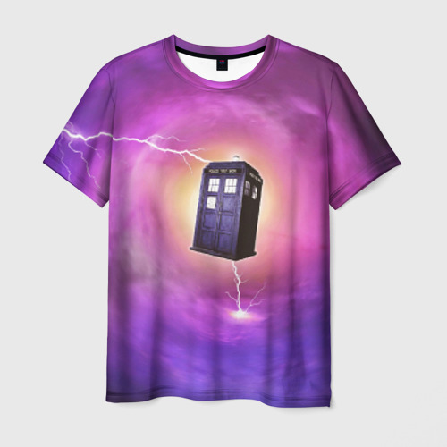 Мужская футболка 3D TIME VORTEX