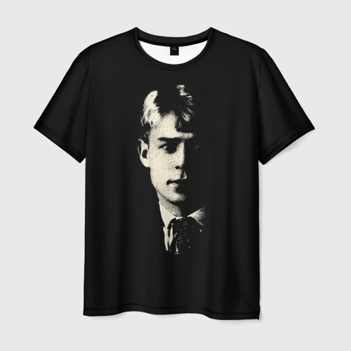 Мужская футболка 3D Есенин
