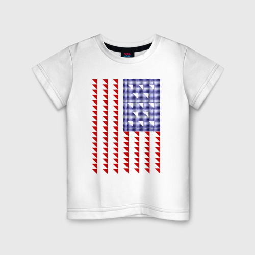 Детская футболка хлопок Triangle US