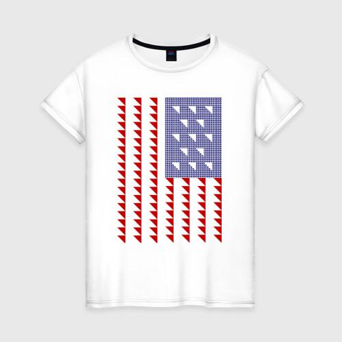 Женская футболка хлопок Triangle US