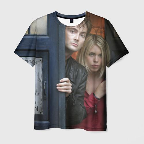 Мужская футболка 3D New Doctor