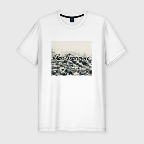Мужская футболка хлопок Slim San Francisco