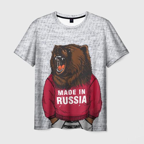 Мужская футболка 3D made in Russia
