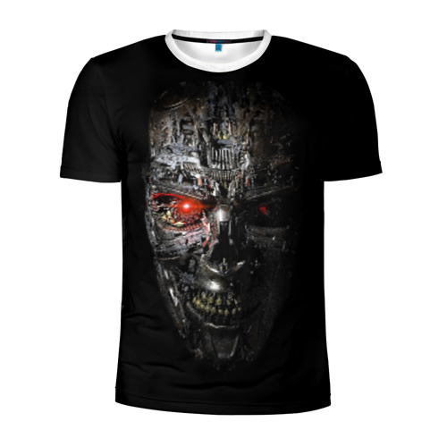 Мужская футболка 3D спортивная Терминатор: Генезис