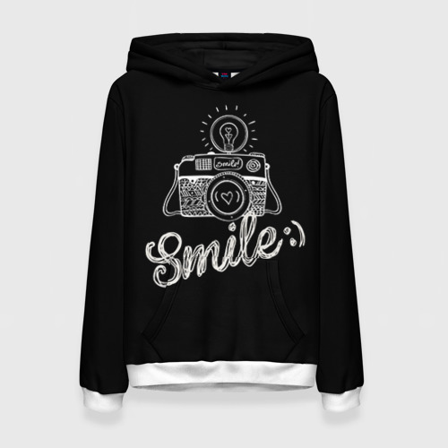 Женская толстовка 3D Smile
