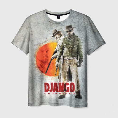 Мужская футболка 3D Джанго 2
