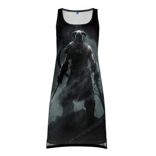Платье-майка 3D Skyrim