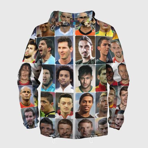 Мужская ветровка 3D Лучшие футболисты