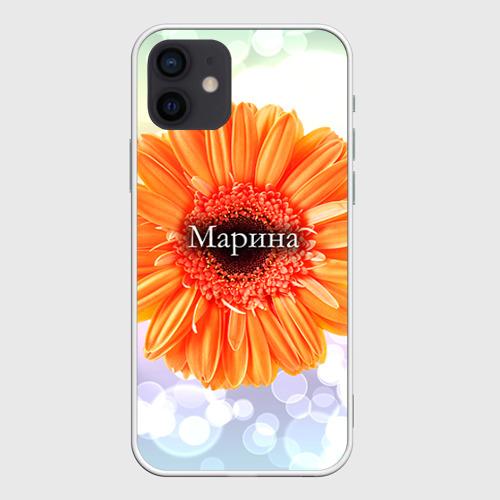Чехол для iPhone 12 Mini Марина