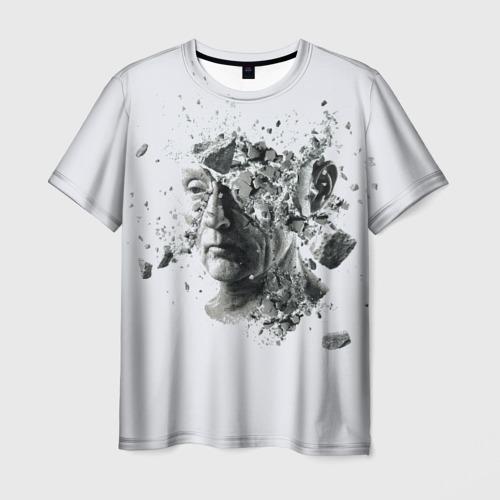 Мужская футболка 3D Пила