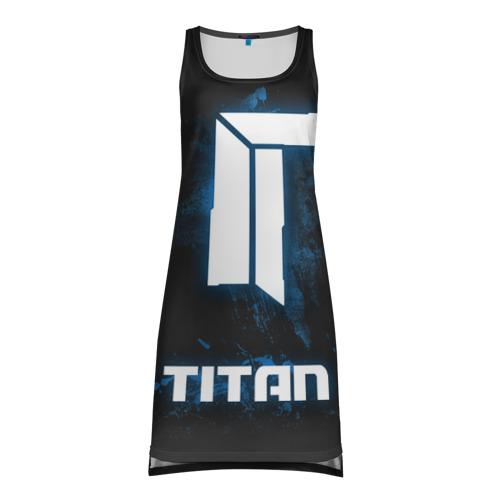 Платье-майка 3D TITAN