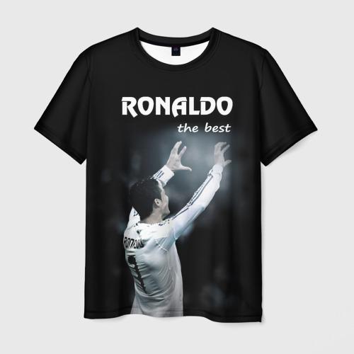 Мужская футболка 3D RONALDO the best