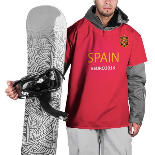 Накидка на куртку 3D Сборная Испании 2016