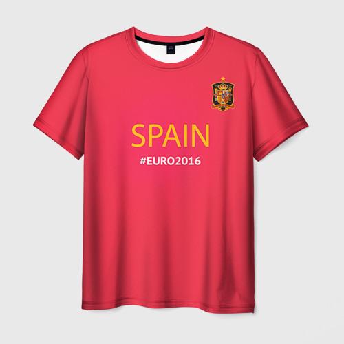 Мужская футболка 3D Сборная Испании 2016
