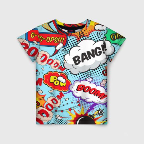 Детская футболка 3D Звуки битвы