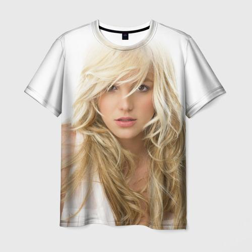 Мужская футболка 3D Бритни Спирс