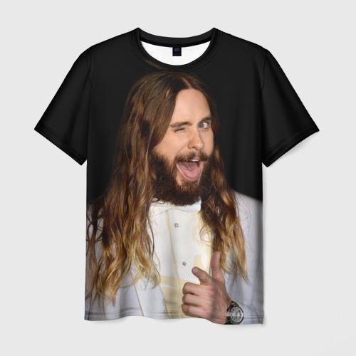 Мужская футболка 3D Джаред Лето