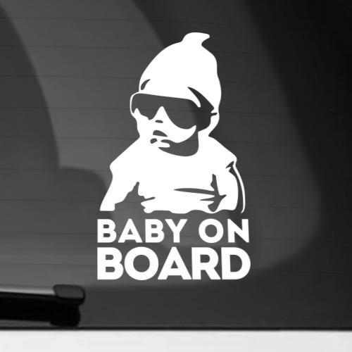Наклейка на автомобиль Baby