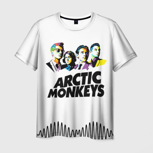 Мужская футболка 3D Arctic Monkeys 2