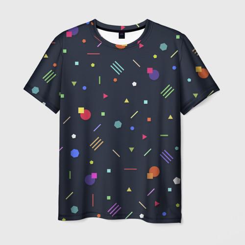 Мужская футболка 3D клубная