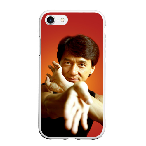 Чехол для iPhone 7/8 матовый Джеки Чан