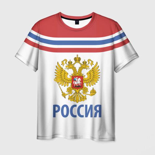 Мужская футболка 3D Путин