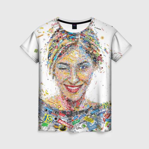 Женская футболка 3D brands