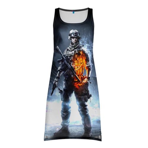 Платье-майка 3D Battlefield