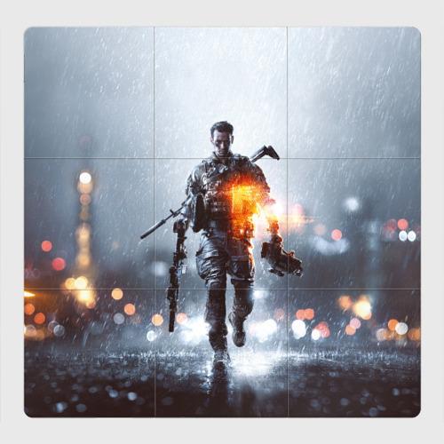 Магнитный плакат 3Х3 Battlefield