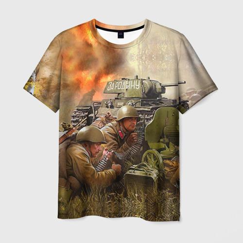 Мужская футболка 3D День победы