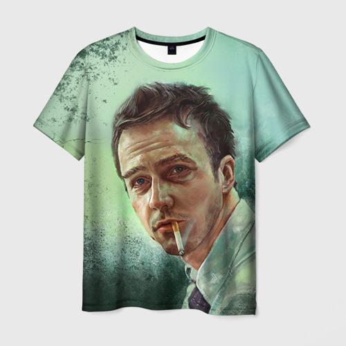 Мужская футболка 3D Нортон