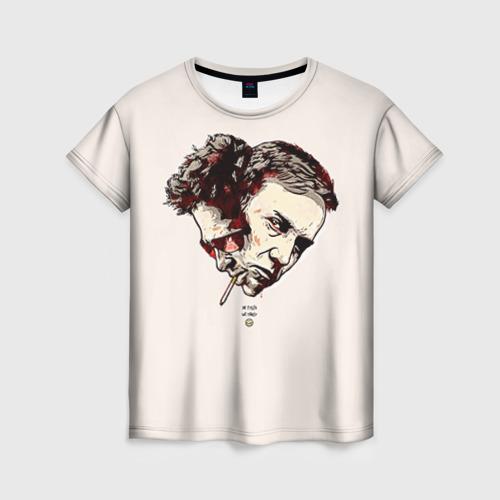 Женская футболка 3D Бойцовский клуб
